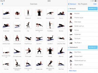 Virtual Trainer Bodyweight for iPad