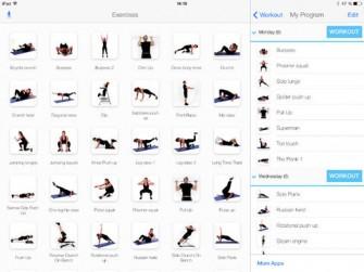 Virtual Trainer Bodyweight for iPad