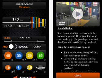 3 iOS Apps for Barbell Training