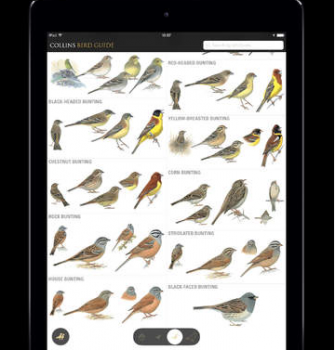 5 Bird Guides for iPad