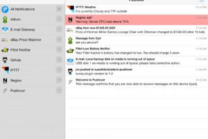 Pushover Notifications for iPad
