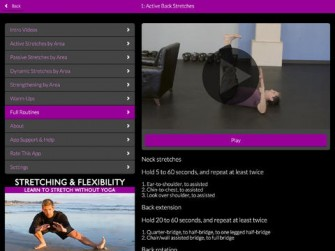 Stretching & Flexibility for iPad