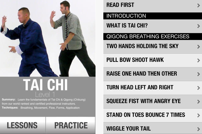 tai chi instructions step step