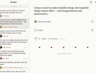 Quotebook for iPad