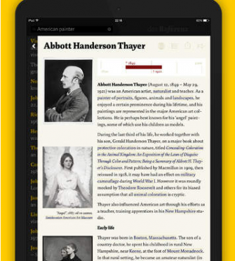 5 Awesome Wikipedia Clients for iPad