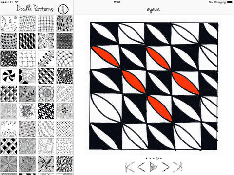 Doodle Patterns for iOSiPad App Finders