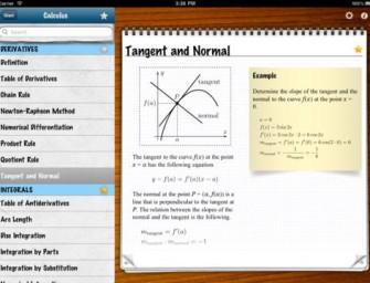 4 Math Formula Apps for iPad