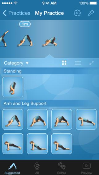 yoga practice builder