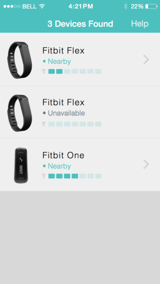 find my fitbit