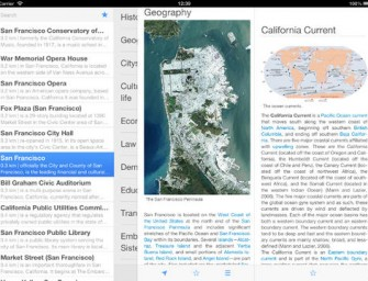 Explore Wikipedia on iPad: 4 Apps