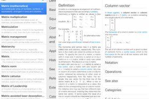 Wikipedia Offline for iPad