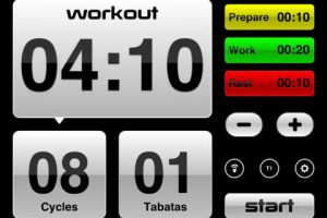 5 iPad Apps for Tabata Training