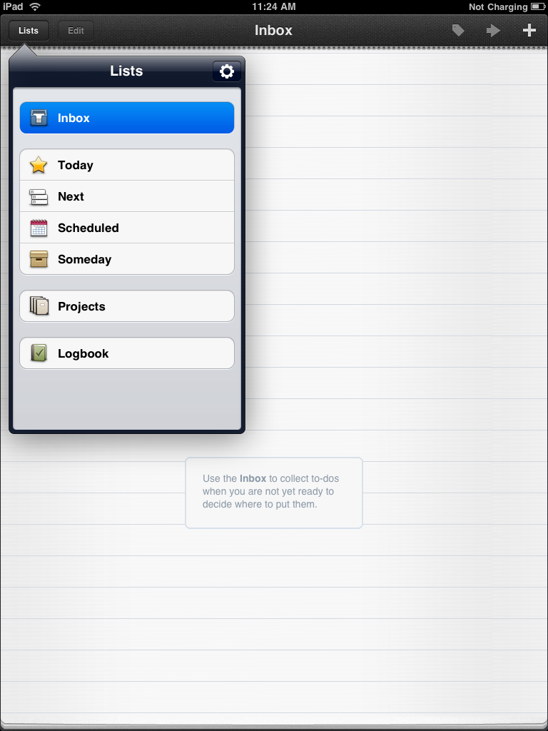 Things for iPad: Ultimate Task Manager